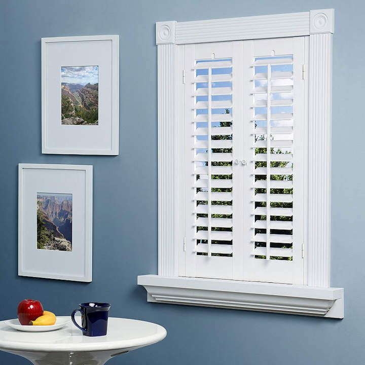 JCPenney Home™ Faux-Wood Plantation Shutters