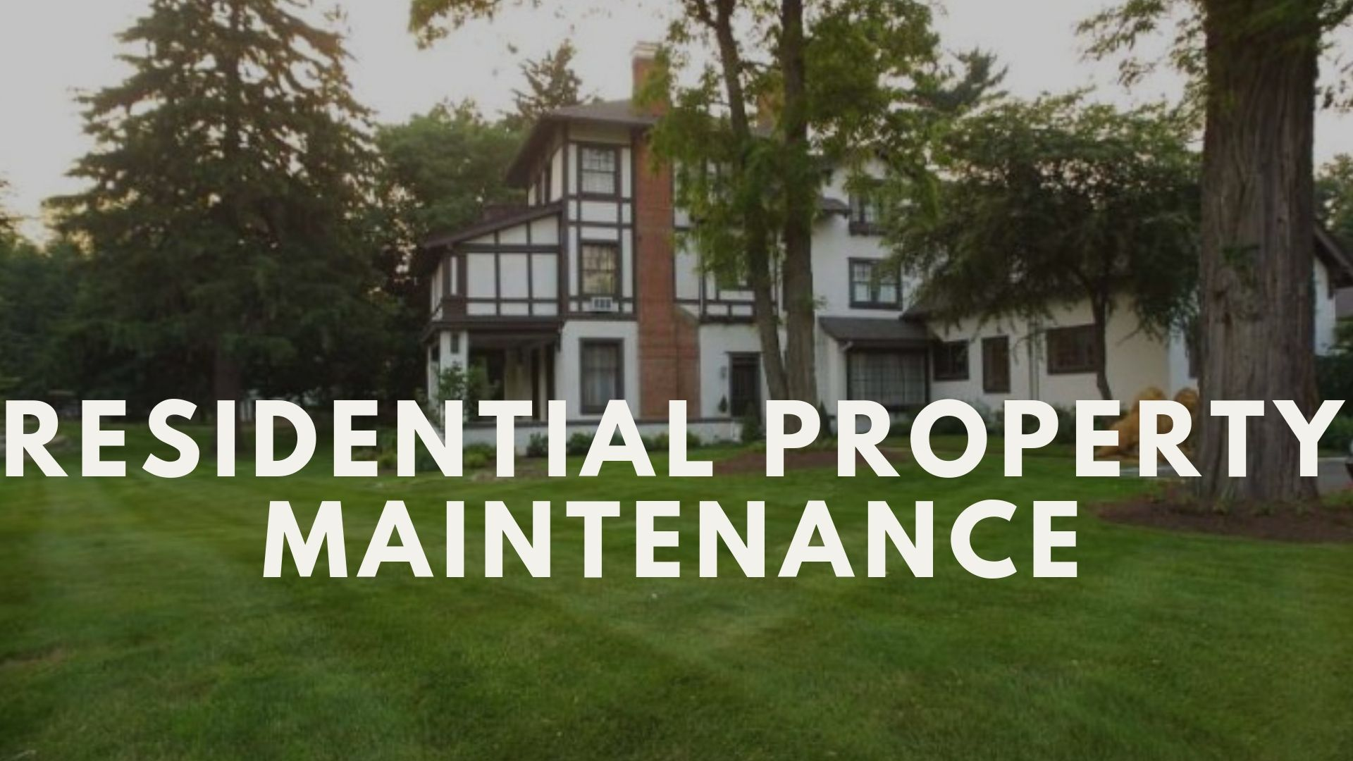 Residential Property Maintenance Service in Ottawa Lawn