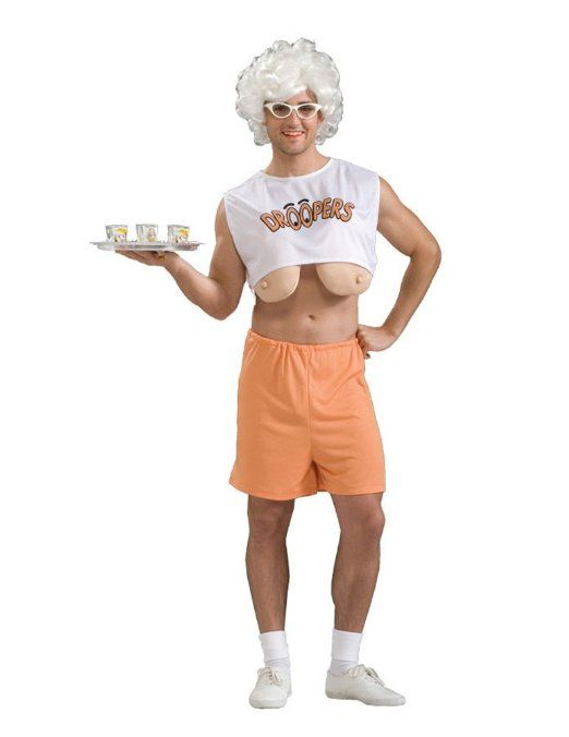 Guy boob costums for holloween