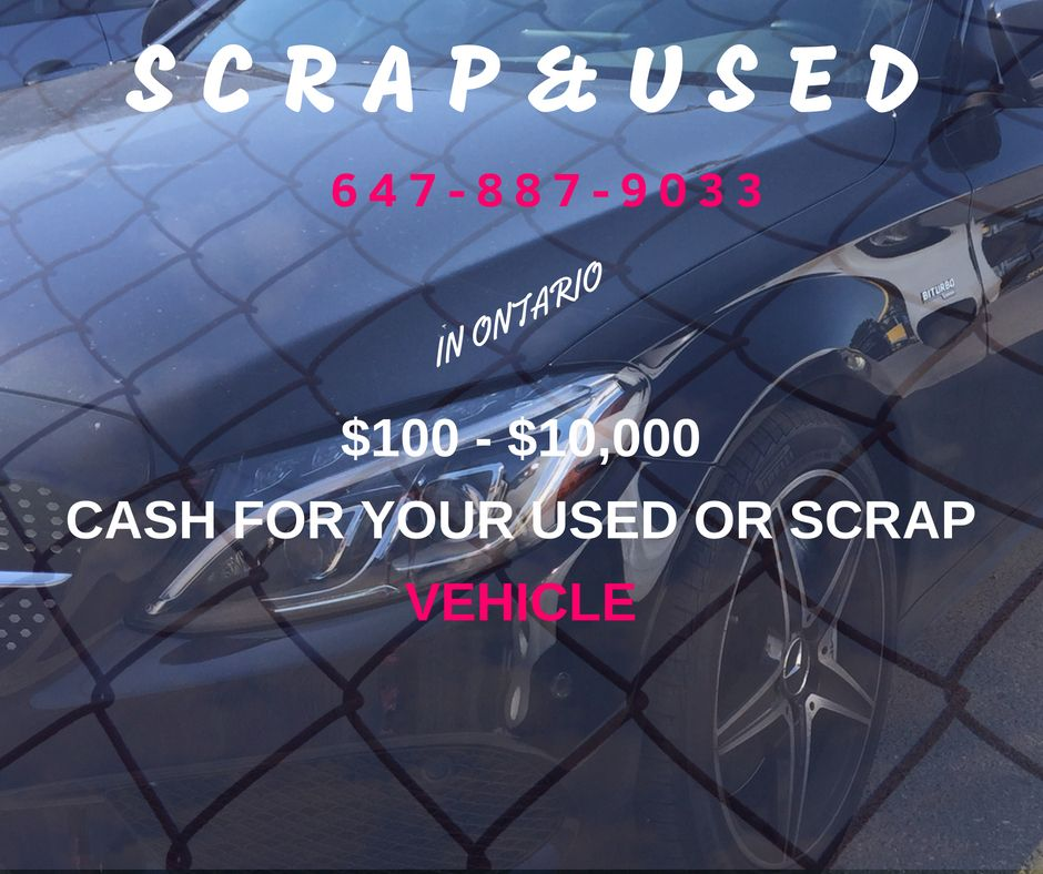 10010,000 Scrap Cars ontario barrie pickering