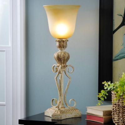 Marsails Vintage Gold Uplight | Kirklands   $27.99