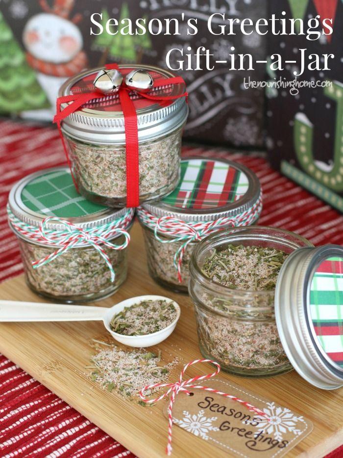 Season\'s Greetings Gift: All-Purpose Seasoning Mix in a Jar | Gifts ...