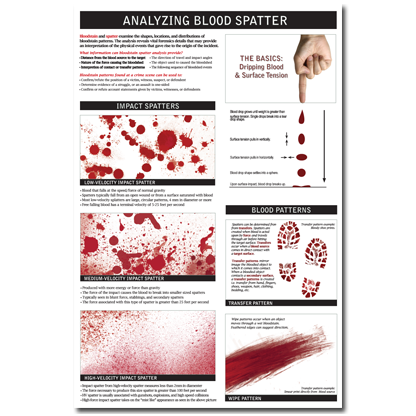 Blood Spatter Analysis Is One Of The Methodologies Used In Forensic
