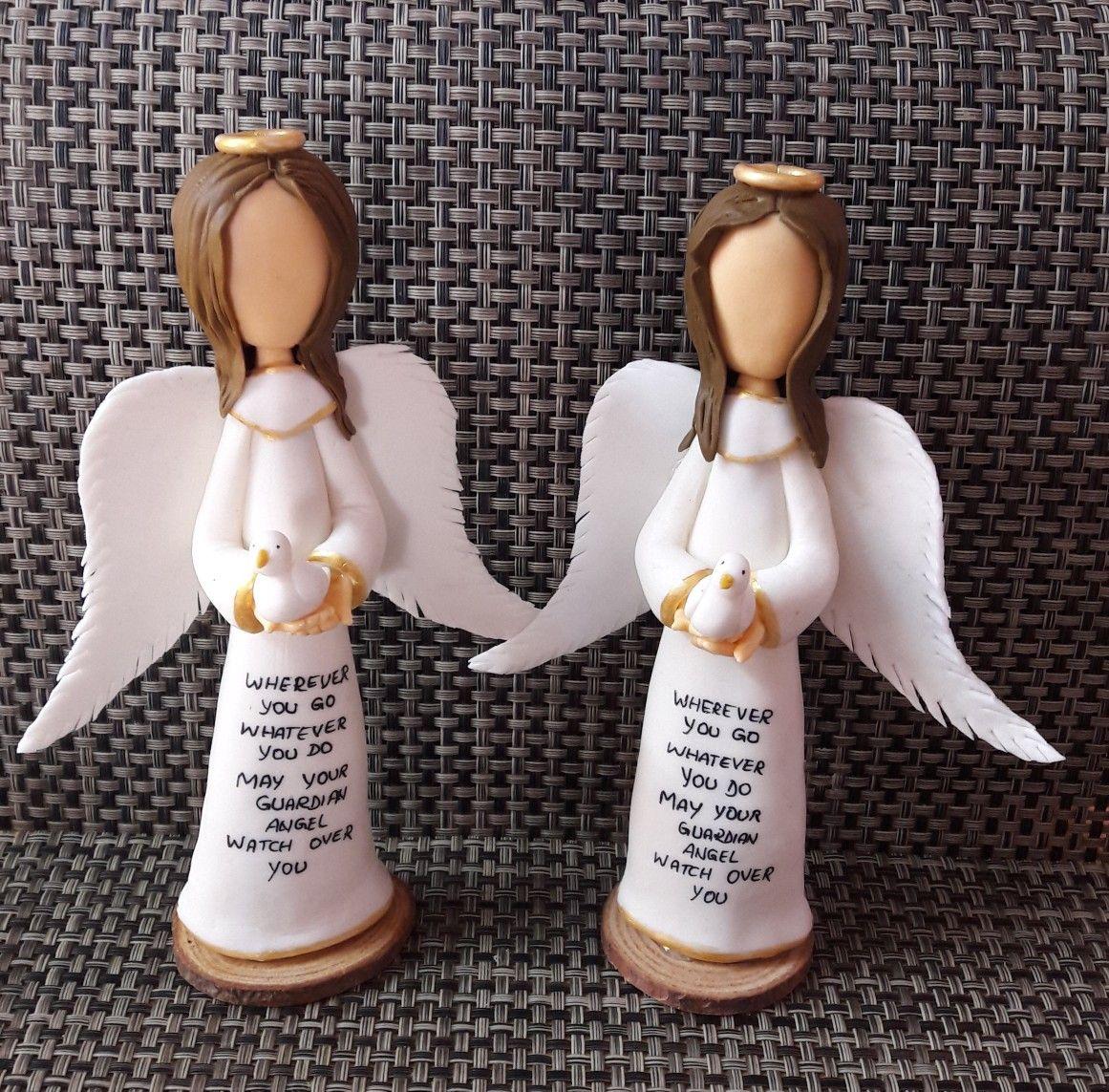 Cold porcelain Angel | Cold porcelain, Porcelain christmas ...