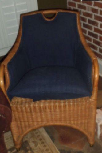 Ralph Lauren Woven Natural Wicker Chair Furniture That I