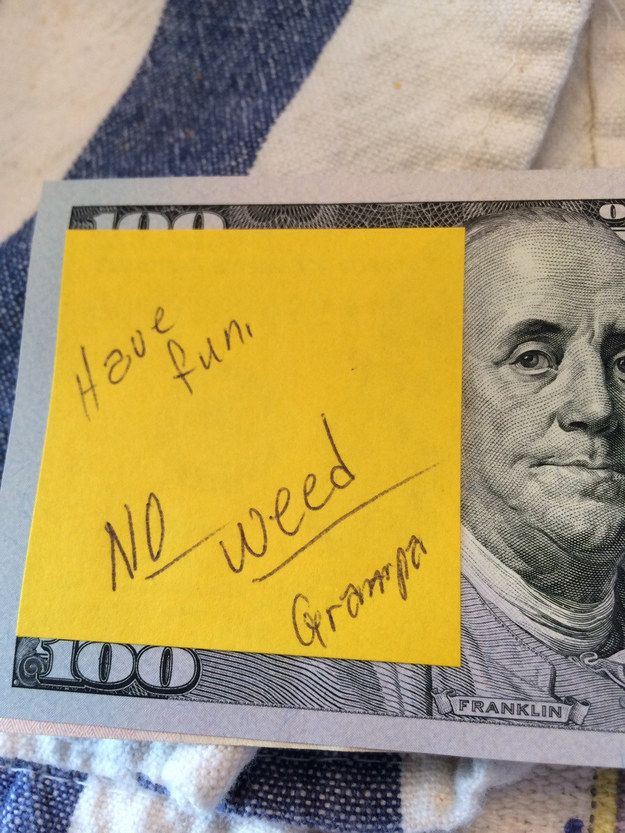 They always give the best gifts. | 22 Reasons Grandpas Are The Biggest Badasses To Walk The Earth