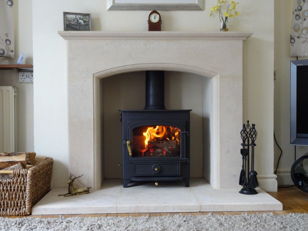 Woodburner fireplace fireplaces pinterest stove living rooms