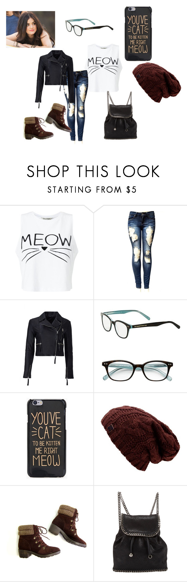 """Untitled #221"" by arribun on Polyvore featuring Miss Selfridge, Marissa Webb, Kate Spade and STELLA McCARTNEY"