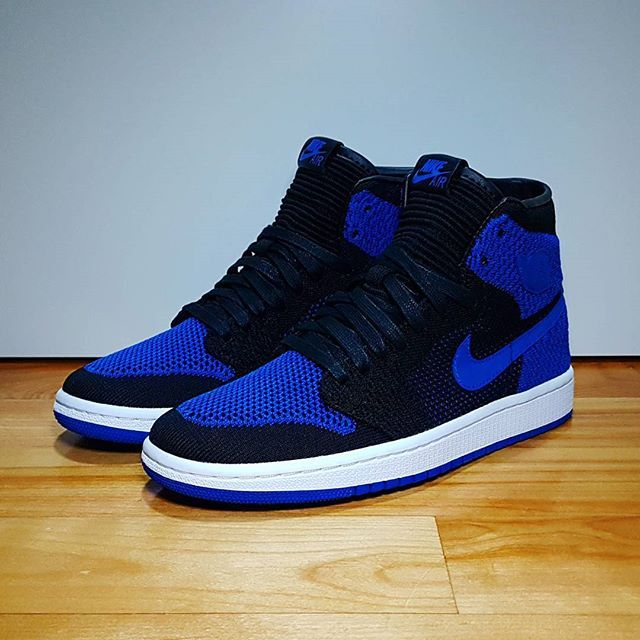 27eb570c8a50 Go check out my Air Jordan 1 Retro High Flyknit Royal 2017 on feet channel  link in bio.
