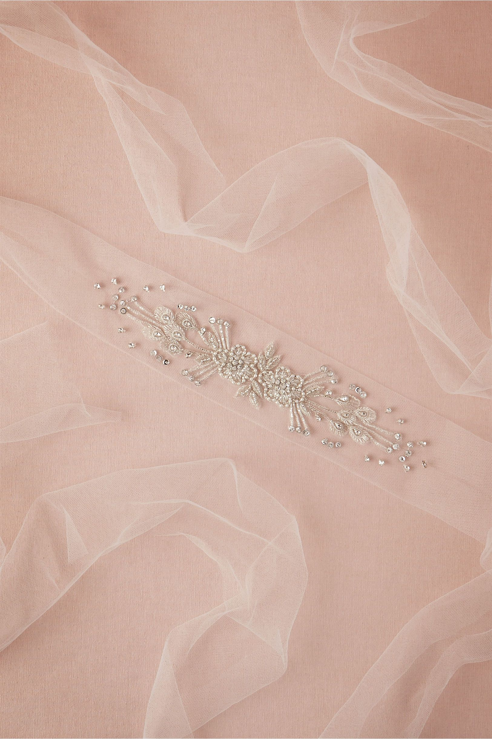 Inessa Tulle Sash in Shoes & Accessories Belts & Sashes at BHLDN ...