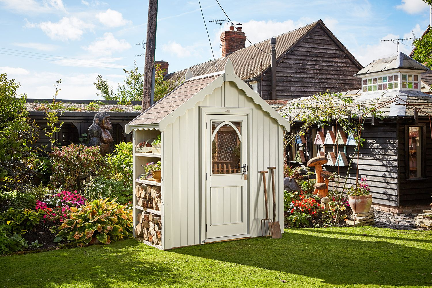 The Chelsea Posh Shed finished with Pearl (Chelsea-310)