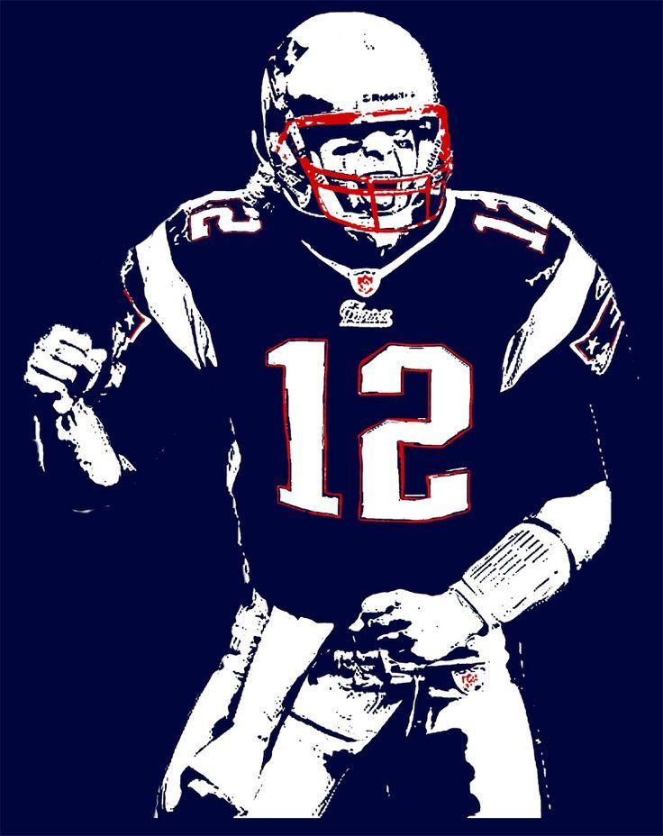 Tom Brady New England Patriots Merchandise Tom Brady T Shirt New England Patriots Football