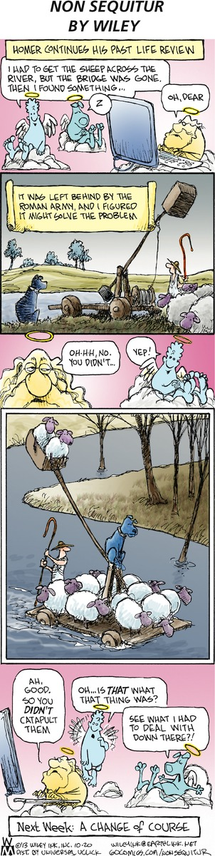 Non Sequitur Comic Strip, October 20, 2013 on GoComics.com