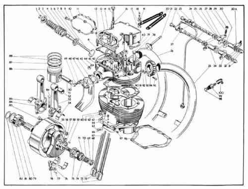 Despiece De Motor Honda Cg 150  1