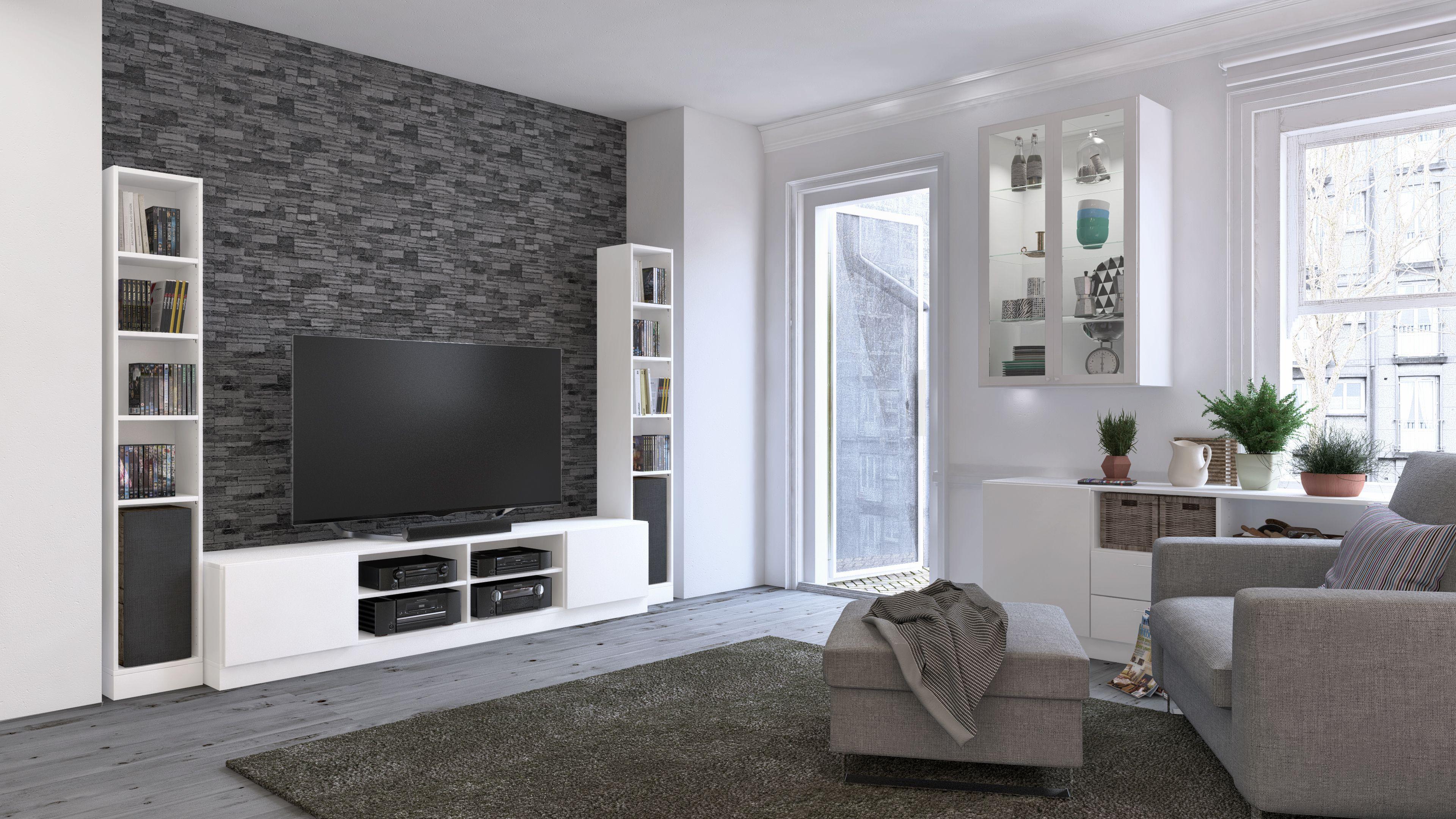 Schön Im Wohnzimmer Können Kommoden Vielfältig Eingesetzt Werden: Als TV  Möbel Oder Um Stauraum Zu
