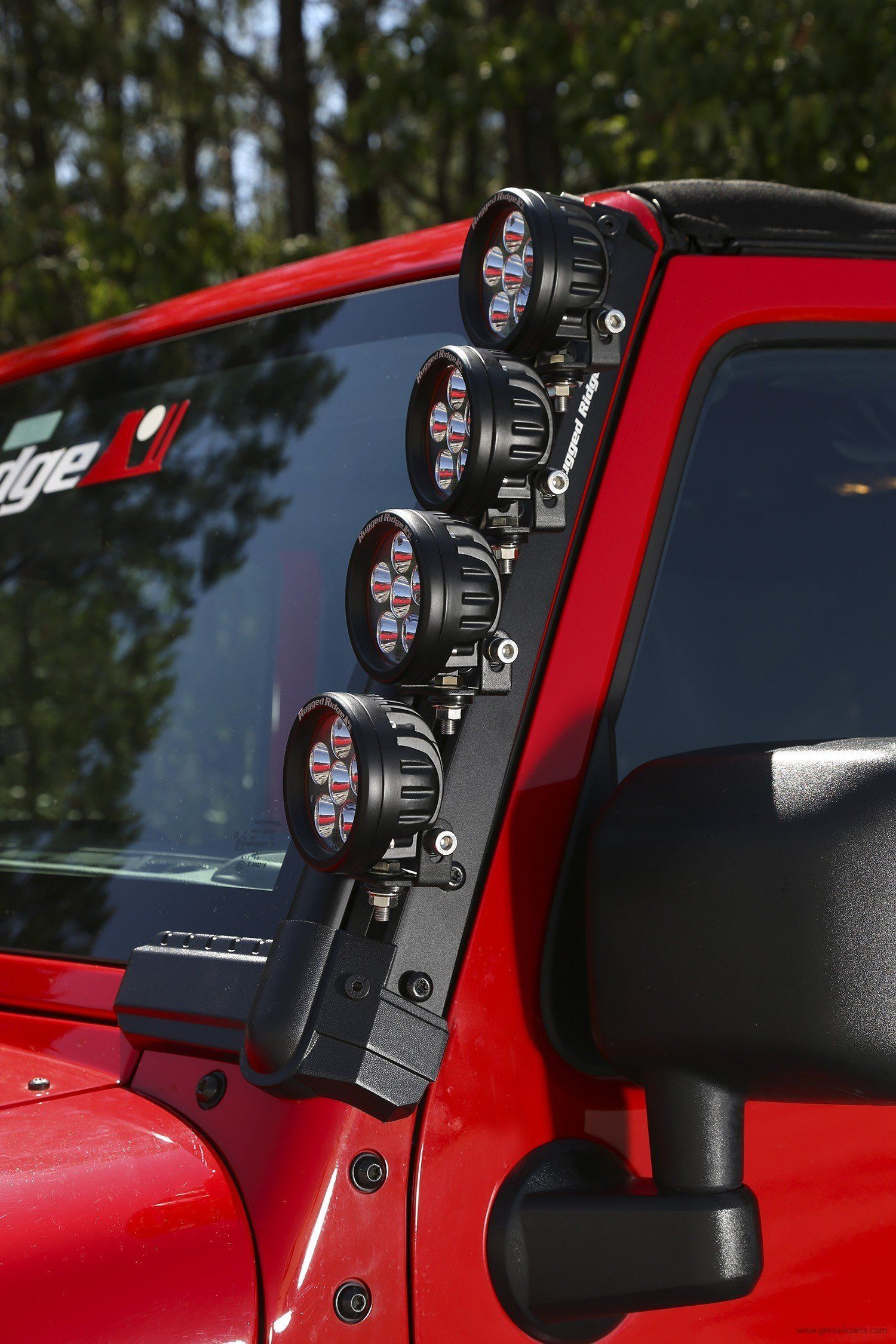 Rugged Ridge Fast Track Mounting System 50 Inch Bar 07 17 Jeep Wrangler Jk Jeep Wrangler Jeep Wrangler Jk Jeep Parts