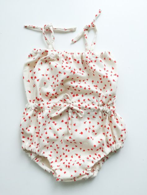 Drawstring Romper Tutorial | Pinterest