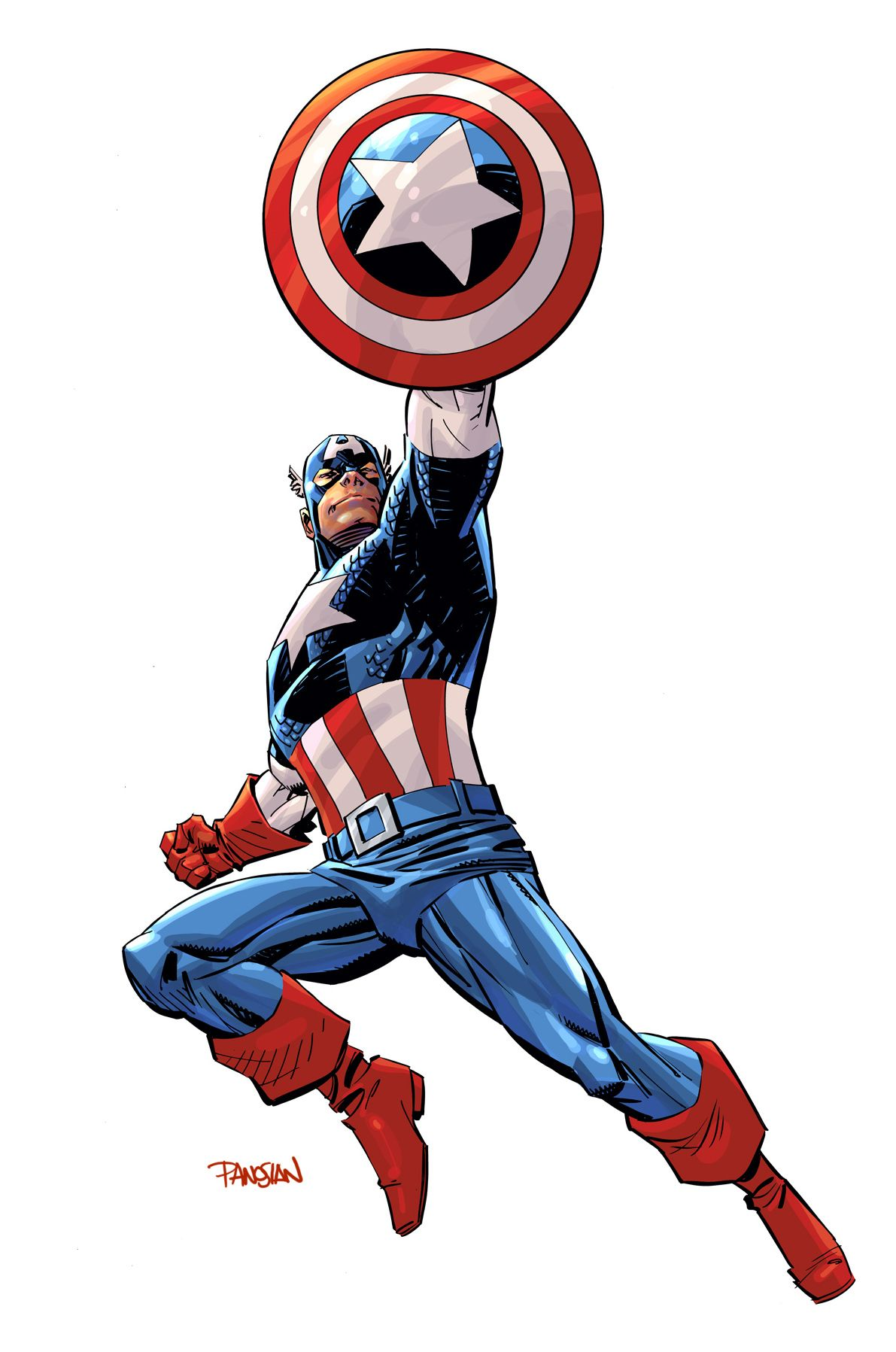 Captain America By Urban Barbarian On Deviantart Captain America Art Captain America Comic Marvel Captain America