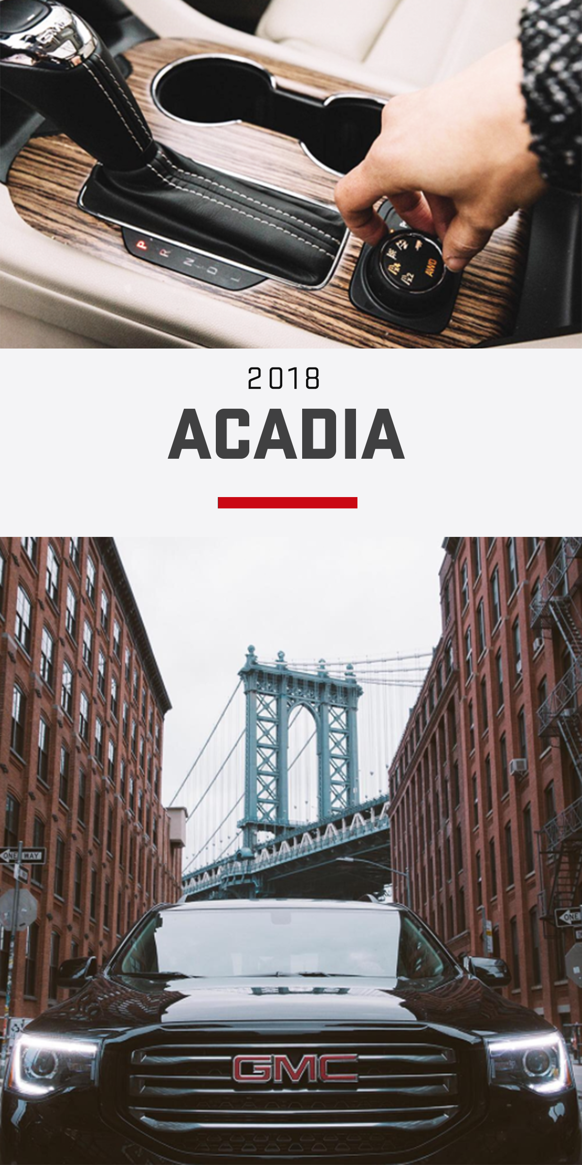 The Acadia Mid Size Suv Meets Your Everyday Needs With Premium