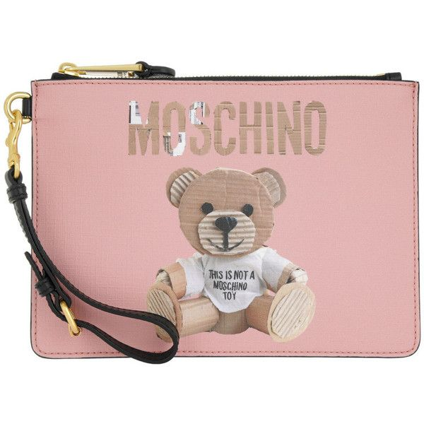 teddy pin wallet Moschino gmQsU39KeD