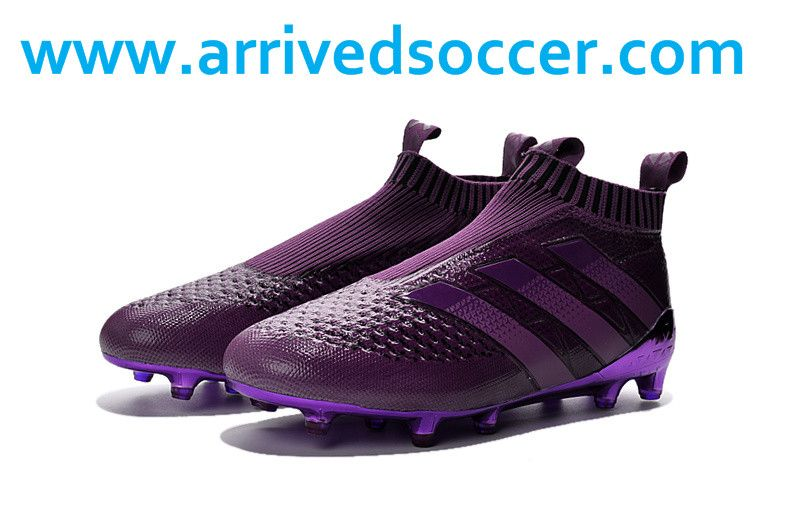 super popular afd7e 5b17c ... adidas ace 16+ purecontrol fg deep purple football boots without  laceless