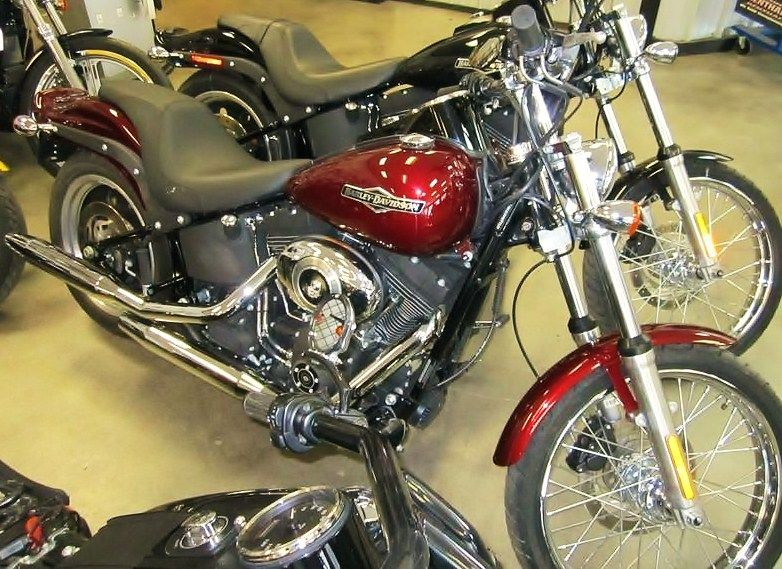 2008 Harley-Davidson Softail Night Train 4617km  $16,999.00