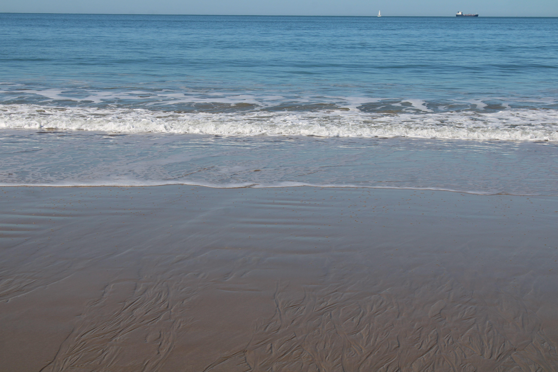orilla de la playa de El Puerto de Santa María