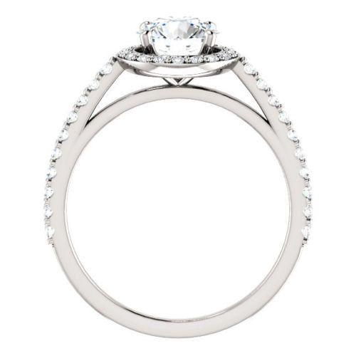 1.42 ct d/si1 round diamond solitaire engagement by MerlinJewelers
