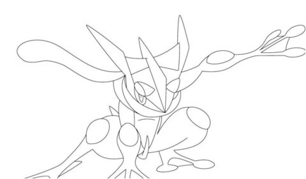 Coloriage Pokemon Xyz Coloriage Pokemon Amphinobi Coloriagepokemon