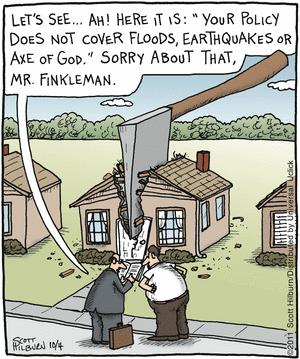 Cartoon Saturday Insurance Humor Home Insurance Homeowners
