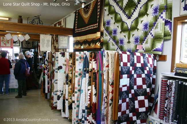 Lone Star Quilt Shop Mt Hope Ohio Our Amish Neighbors