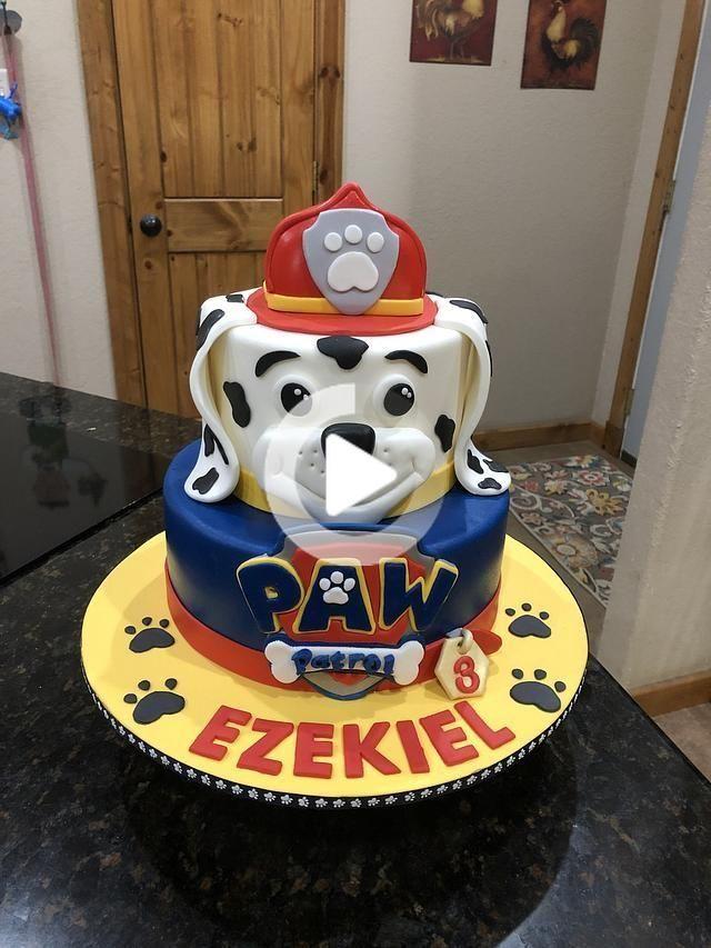 paw patrol  paw patrol cake paw patrol birthday cake