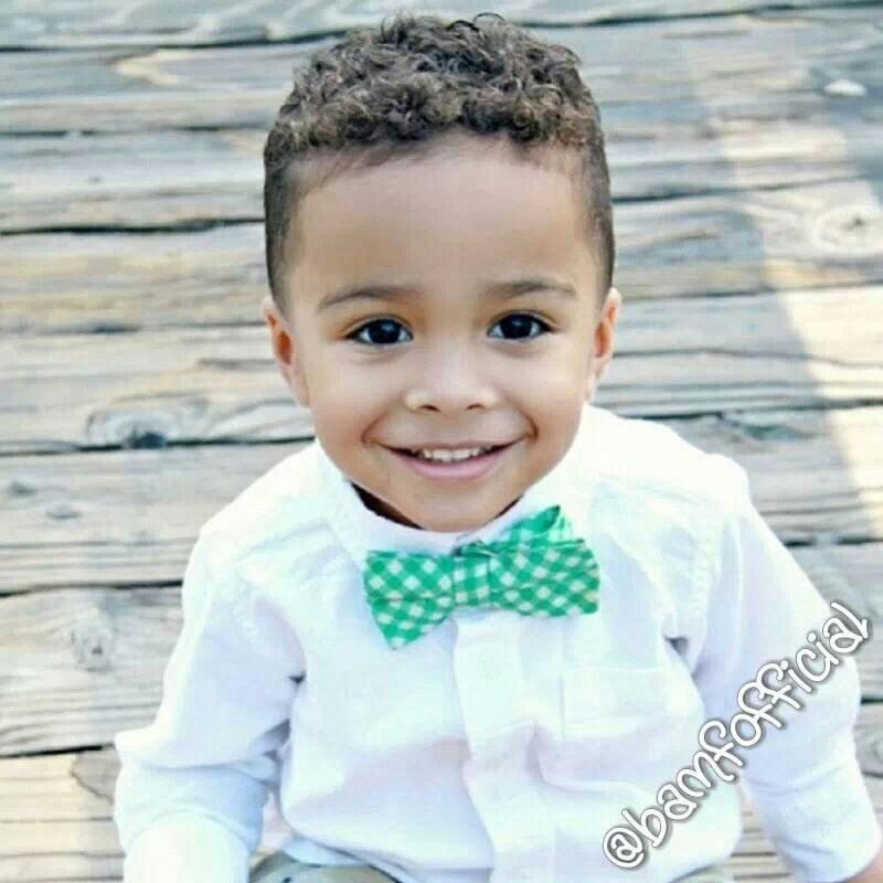 Pin By Nia Grissett On Wedding Then A Home Baby Boy Haircuts Boys Curly Haircuts Cute Kids