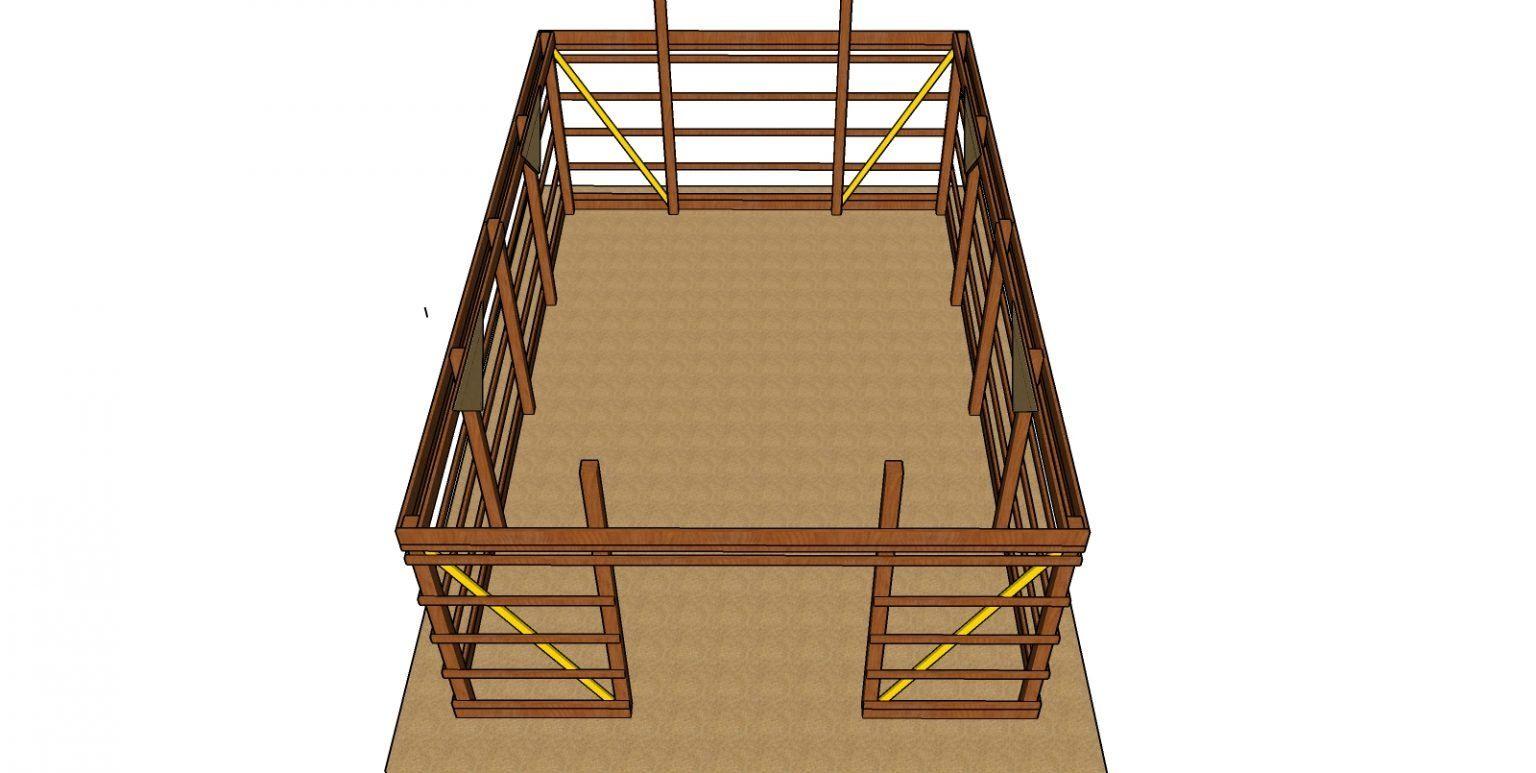 20×30 Pole Barn - Free DIY Plans in 2020 | Diy plans, Diy ...