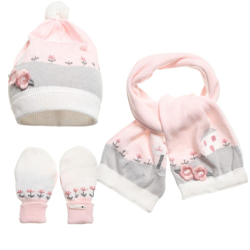 cf46906e3e8 Mayoral - Baby Pink Hat