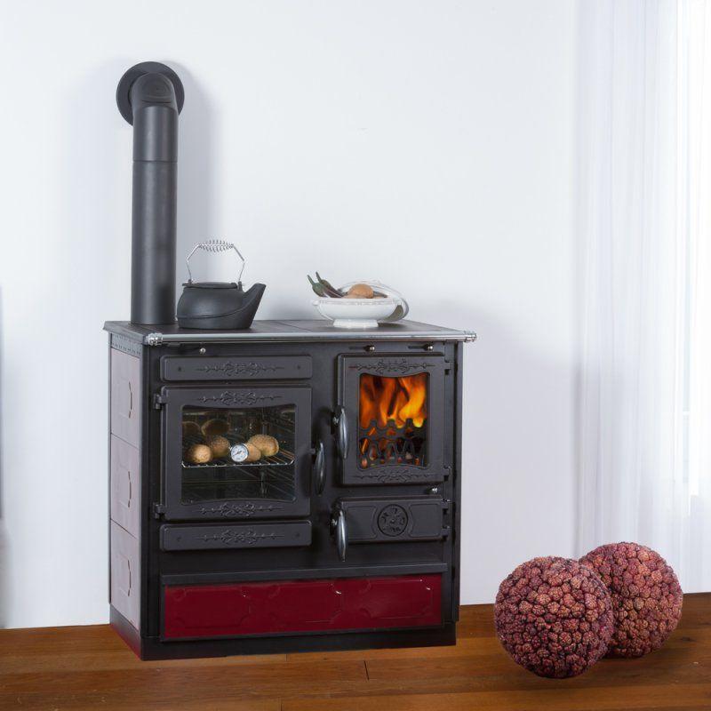 Globe Fire Alhena bordeaux Küchenherd Gussherd | kachel | Pinterest ...