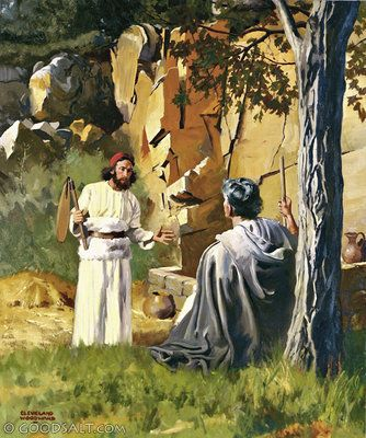 Jugdes 6 Call Of Gideon Bible Events In The Ot