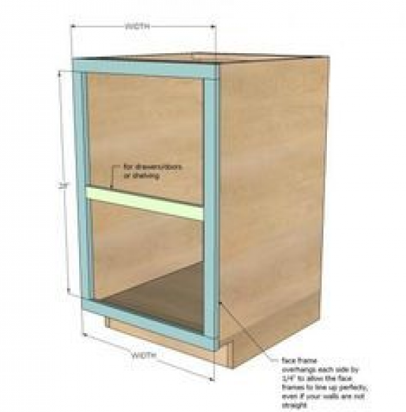 how to build your own kitchen cabinet base plans from ana