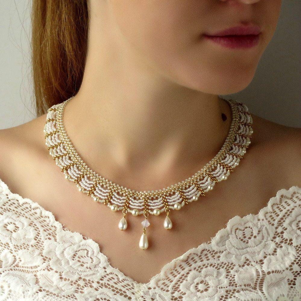 Wedding necklace set bridal necklace and earring set wedding