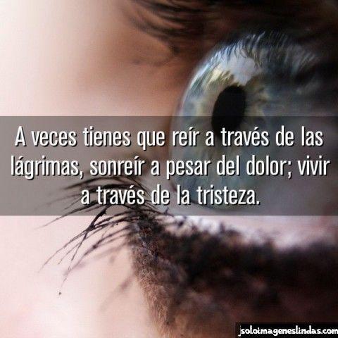 Solo Imágenes De Tristeza Y Lagrimas Con Frases De Amor