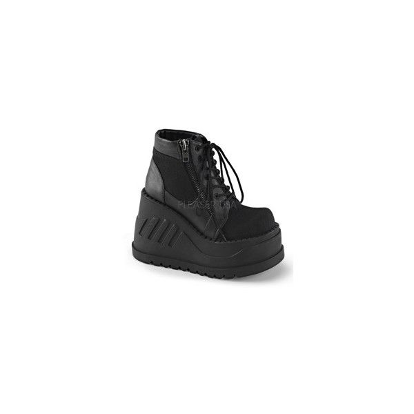 DEMONIA ALTERNATIVE, PUNK, GOTH, CREEPER, CYBER, COMBAT SHOES AND... ❤ liked on Polyvore featuring shoes, boots, ankle booties, punk rock boots, combat boots, gothic combat boots, punk combat boots and demonia boots