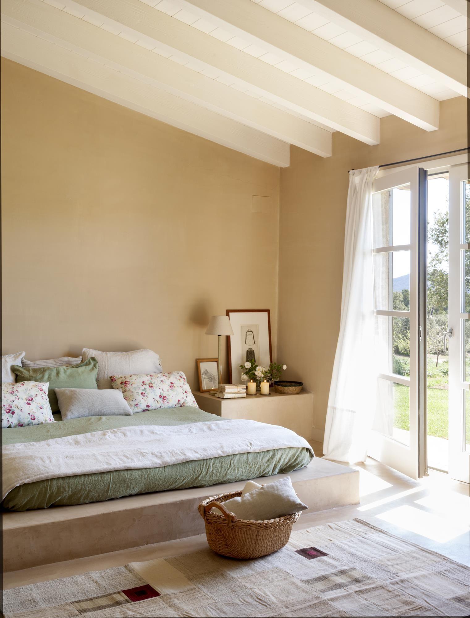 Dormitorios Con Look Natural Las Claves Para Acertar Colores Para Dormitorio Colores Para Pintar Casas Dormitorios