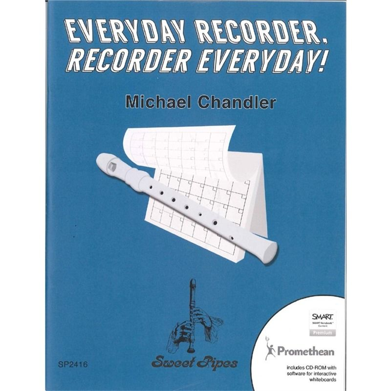 Everyday Recorder, Recorder Everyday! ( 845651), Recorder Song Books & Sheet Music for Kids | West Music