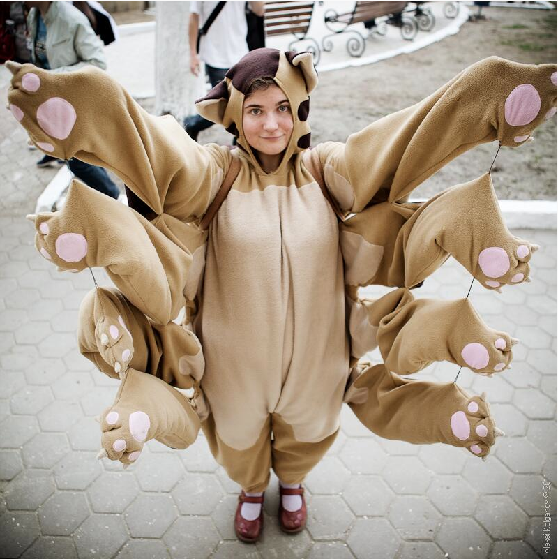 Catbus #cosplay from My Neighbor Totoro | Best cosplay ...