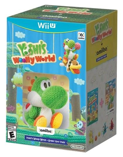 Yoshis Wooly World Amiibo Yoshi Estambre Wii U Videogames