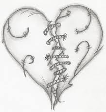 Day 4 So Much Loss But New Gains With Images Heart Drawing Broken Heart Drawings Broken Tattoo