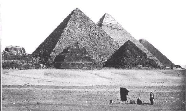 Pyramids - egypt1915