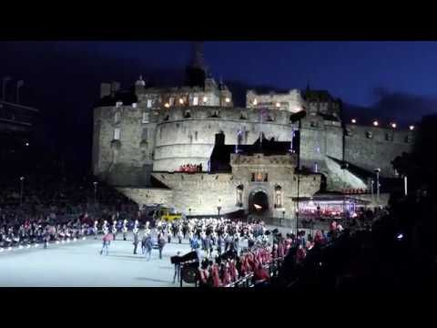 Edinburgh Military Tattoo 2017 Act 1 Entrance Of The Massed Pipes Drums Youtube Edinburgh Military Tattoo Military Tattoos Cairngorms