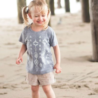 Ikat tees for the kids for only $18.00 at www.brickyardbuffalo.com