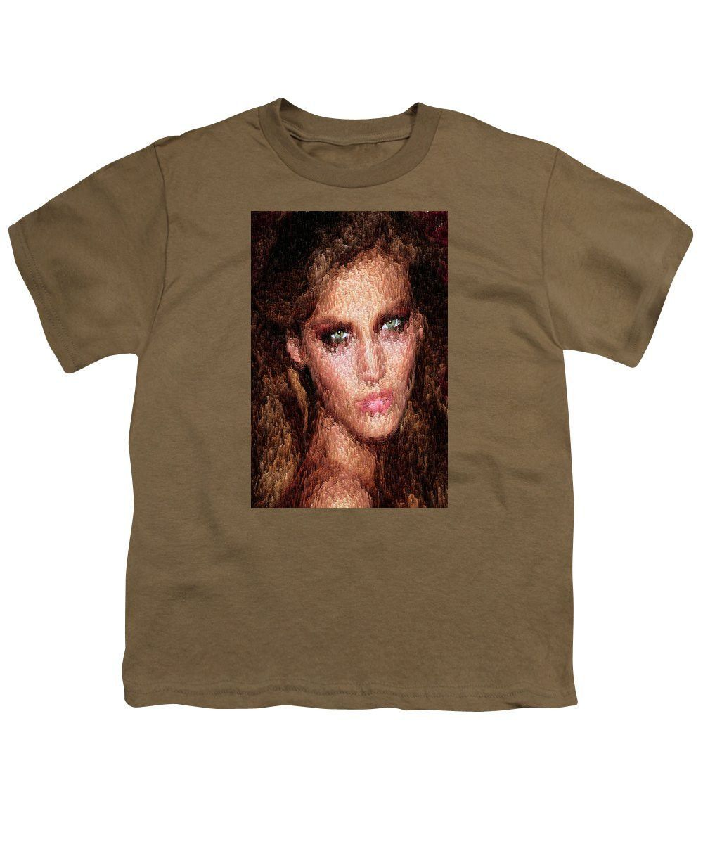 Youth tshirt female portrait youth and products